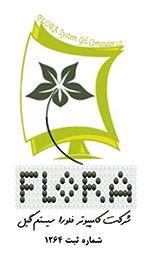 لوگوی شرکت کامپیوتر فلورا سیستم گیل